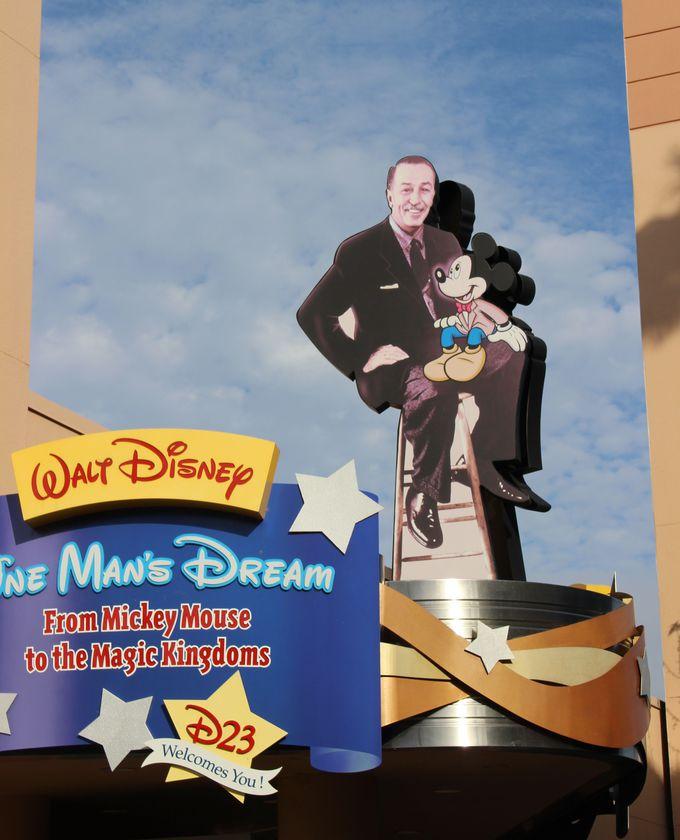 ウォルト・ディズニーの軌跡を辿る