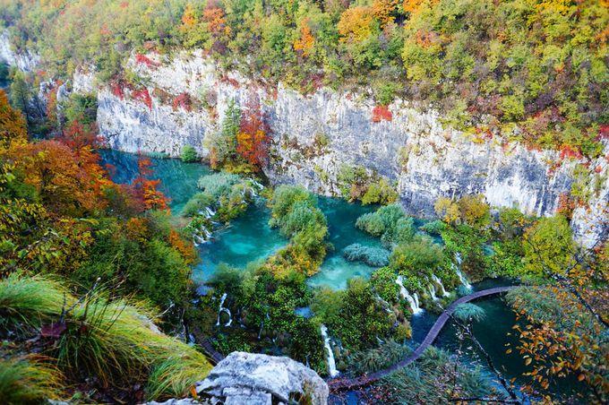 プリトヴィツェのエメラルドグリーンの湖を撮る!