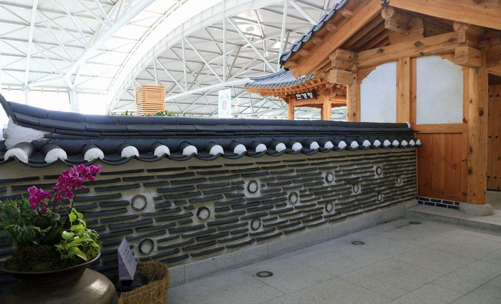 仁川空港の非保安区域を楽しむ