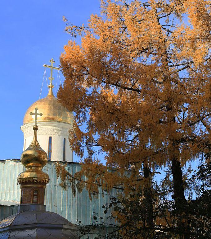 至聖三者聖セルギイ修道院(トロイツキー聖堂)