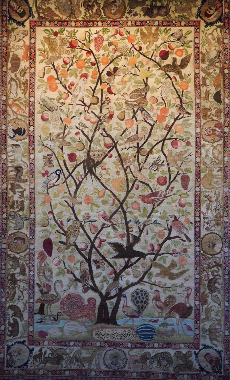 イラン絨毯博物館で世界最高水準のペルシアの美にはまる!
