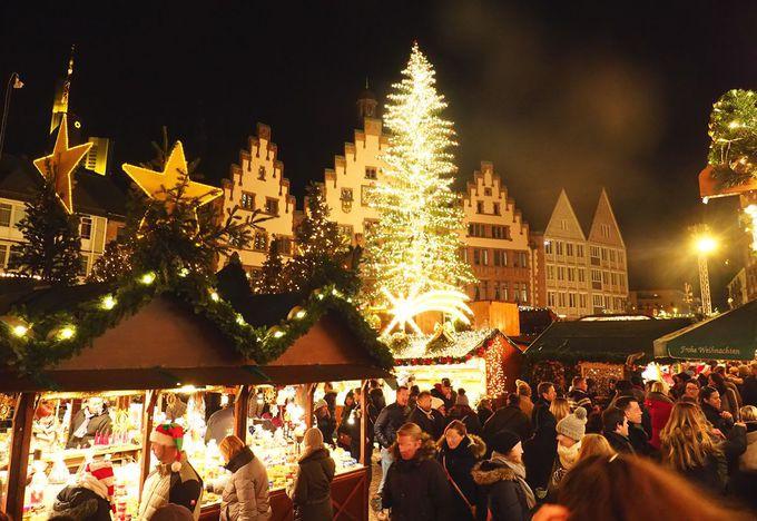 フランクフルトのクリスマスマーケットは最古で最大級!