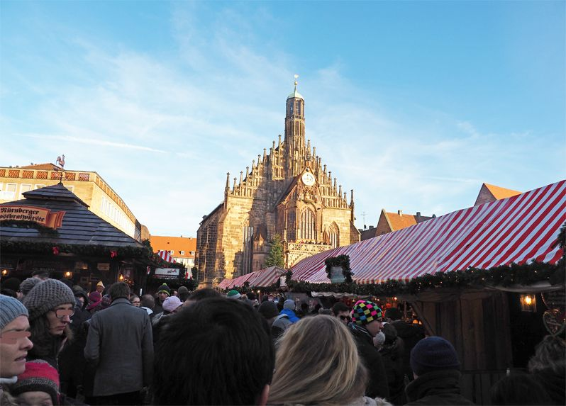 ニュルンベルクのクリスマスマーケットは一番人気!