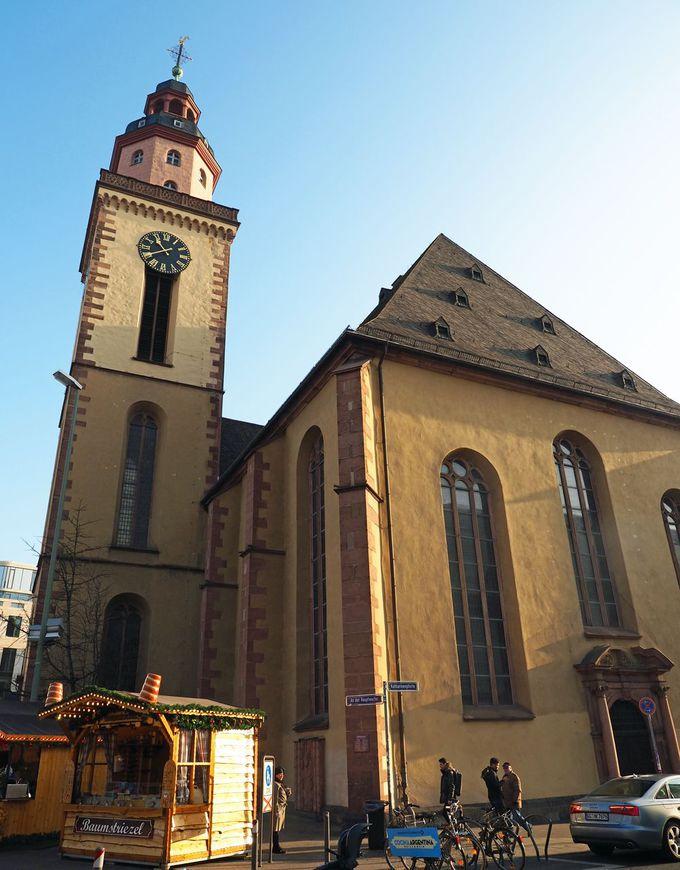 聖母マリア教会は綺麗で、カタリーネン教会はスマート!