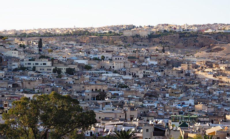 モロッコの迷宮都市フェズの迷路の謎を解く!
