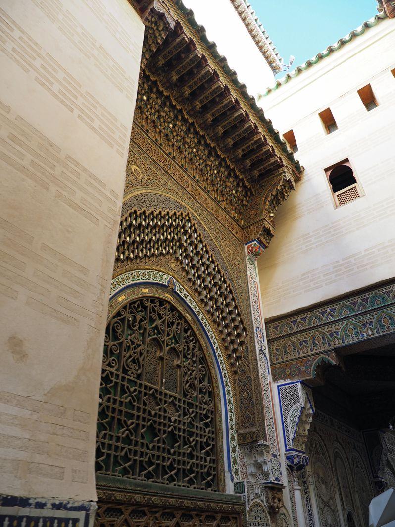 フェズのもうひとつの中心 ザウイア・ムーレイ・イドリス廟