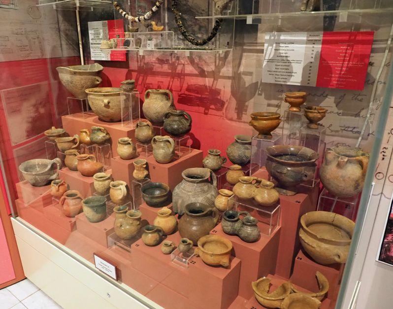 青銅器時代の展示も魅力的!