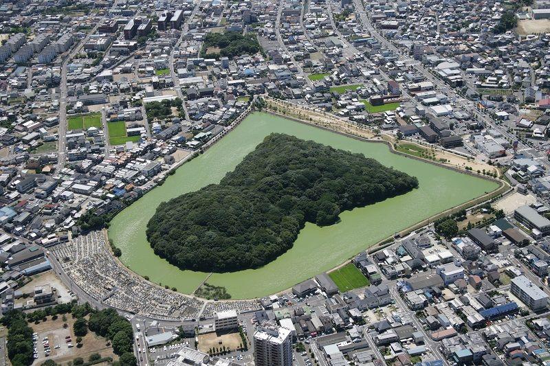 日本一美しいニサンザイ古墳へ!
