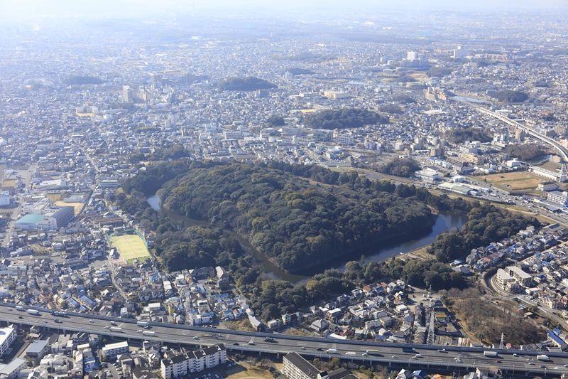応神天皇陵古墳と誉田八幡宮
