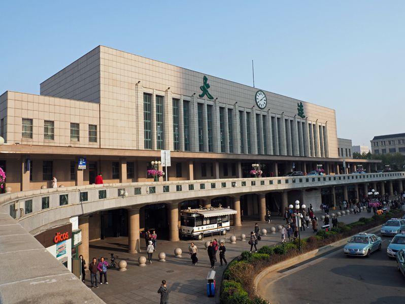 大連駅から多くの日本人が旅立った!