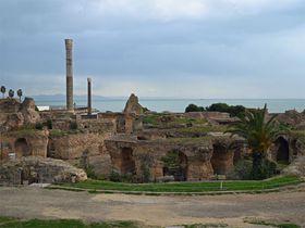 チュニジアで必見!古代遺跡のカルタゴと白壁青扉のシティブサイドを巡る!