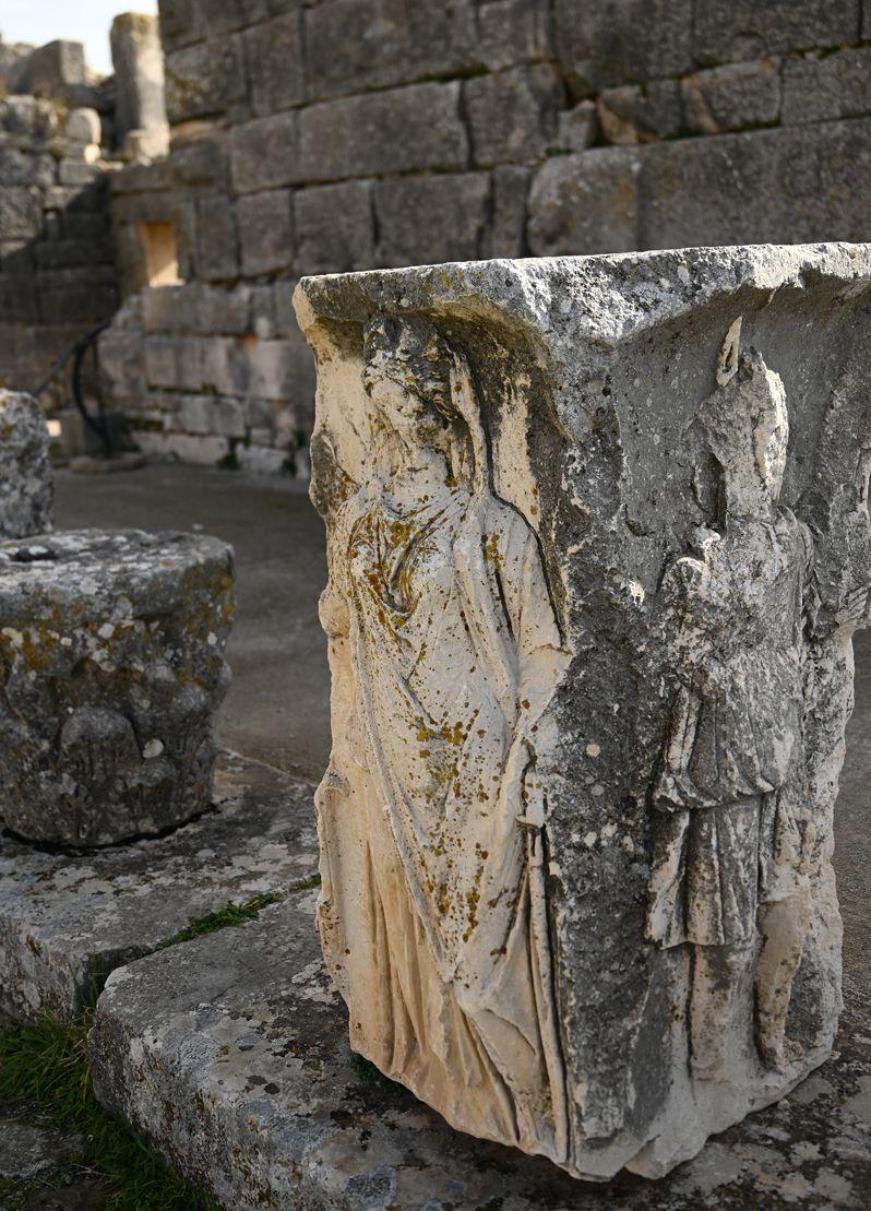自然散策とローマ以前の遺跡