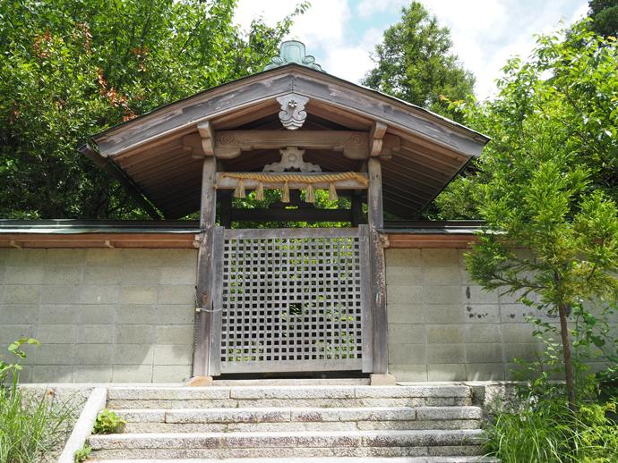 葛城坐二上神社と大津皇子二上山墓