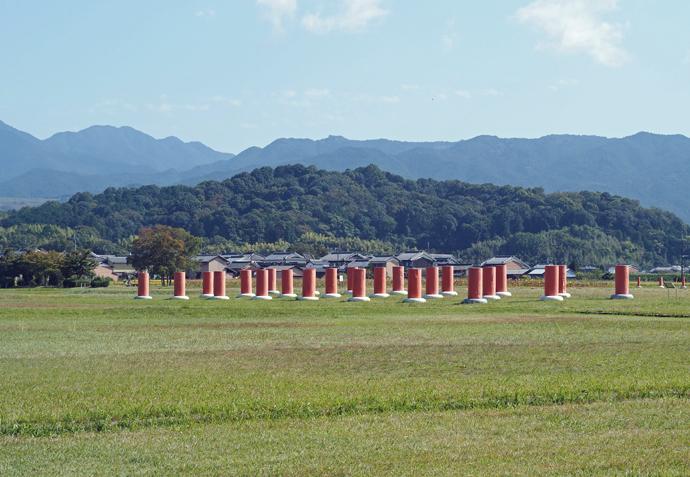 藤原京跡資料室や藤原京跡を訪問し古代史を堪能しよう!
