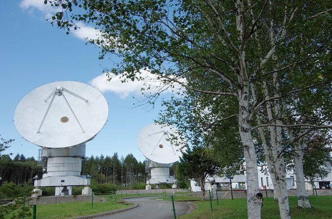 日本三選星名所。世界最大級の電波望遠鏡があります