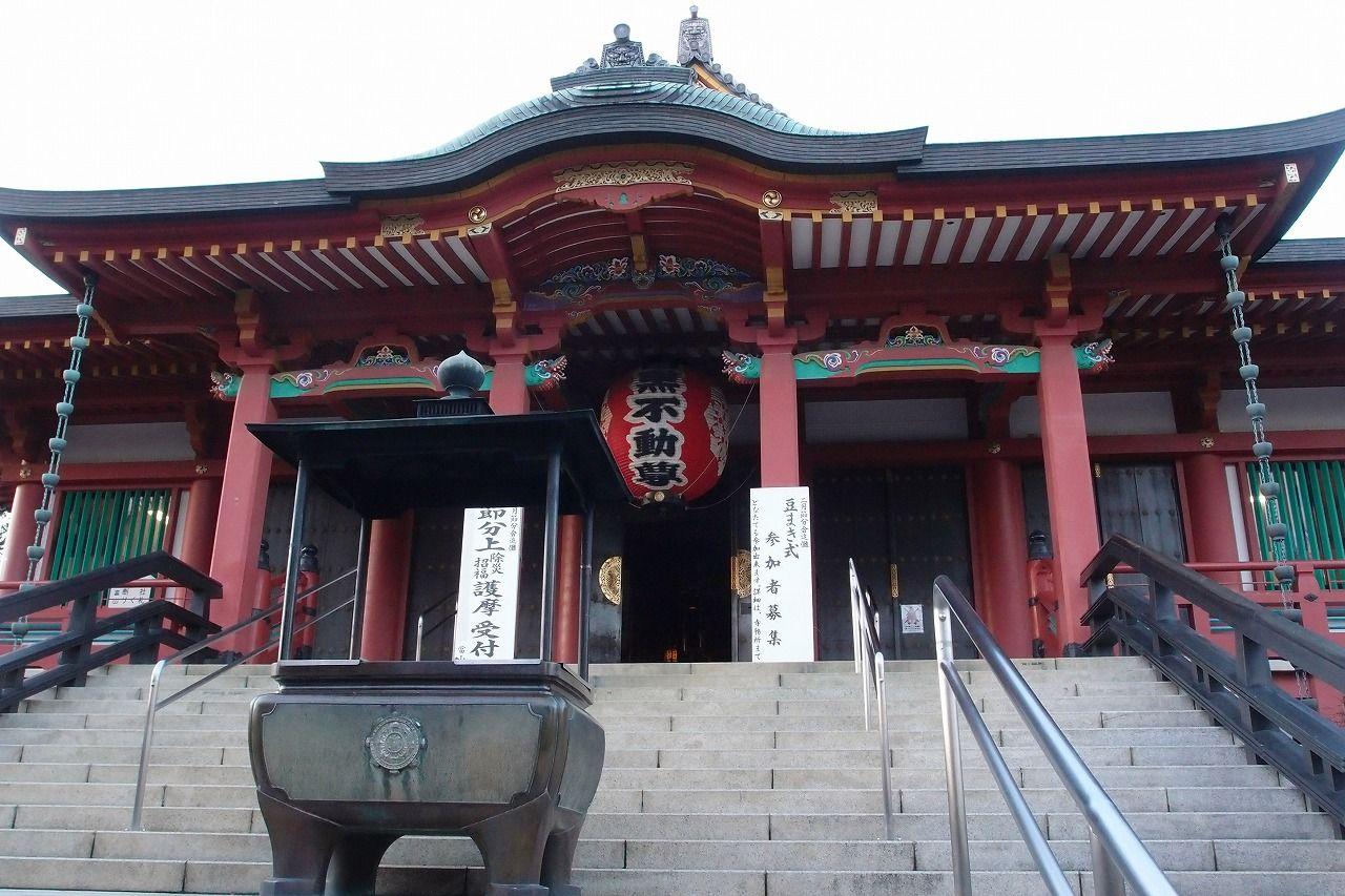 目黒不動(瀧泉寺)−日本三大不動の一つとされています