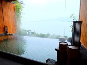 宮島を臨む「安芸グランドホテル」のランチと貸切露天風呂で贅沢時間
