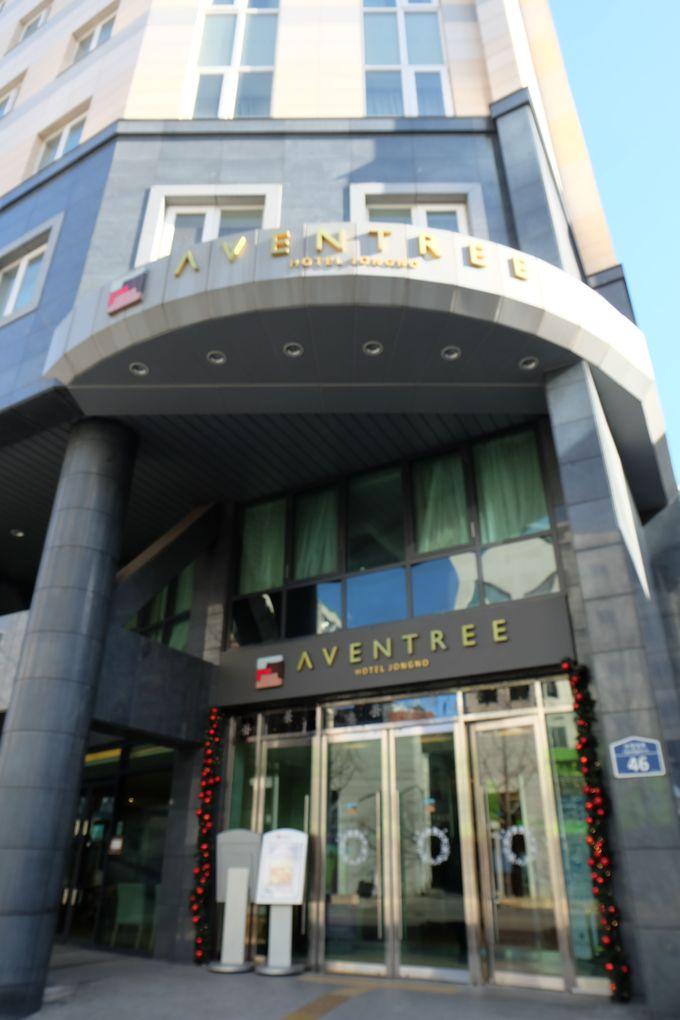 2012年秋にオープンした綺麗なホテル