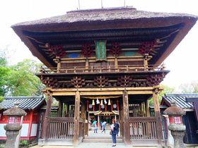 茅葺屋根が印象的な熊本の国宝・青井阿蘇神社