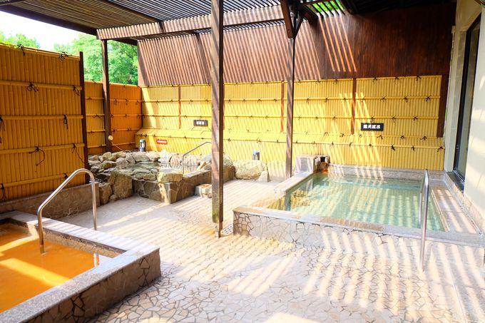 ビジネスホテルで温泉を露天で楽しめる!