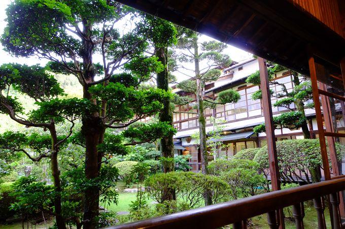 見事な桃山式庭園