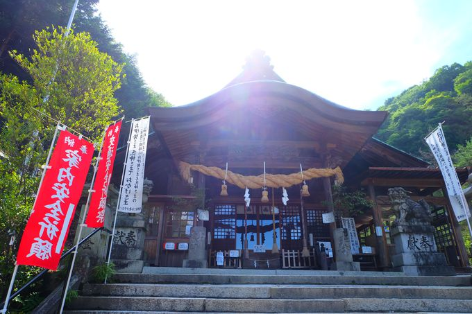 創建は603年と歴史ある神社