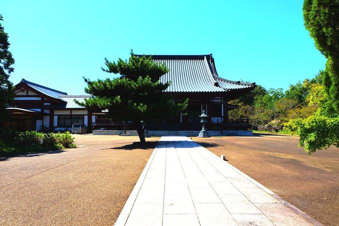 大安寺の創始者が作った五色園