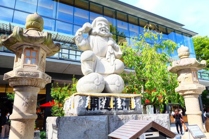 日本一の石造りの「だいこく像」