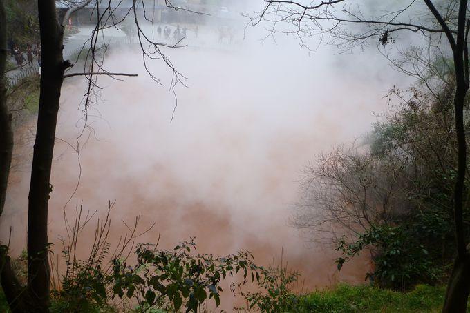 赤い色の地獄、その名も「血の池地獄」