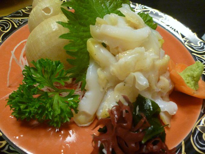 魚介類分野からは地元の人がイチオシ! 「白バイ貝」