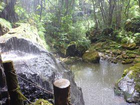 マイナスイオン浴び放題!無料の絶景露天風呂「裏見ヶ滝温泉」と滝の裏側が見られる「裏見ヶ滝」