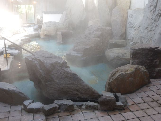 内風呂も魅力的
