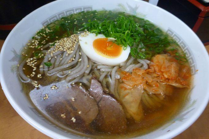 麺・スープ・チャーシューにこだわりアリ人気店「六盛」の冷麺
