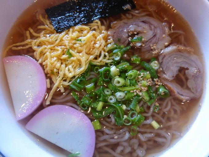 「春香苑」の温麺も食べてみよう!