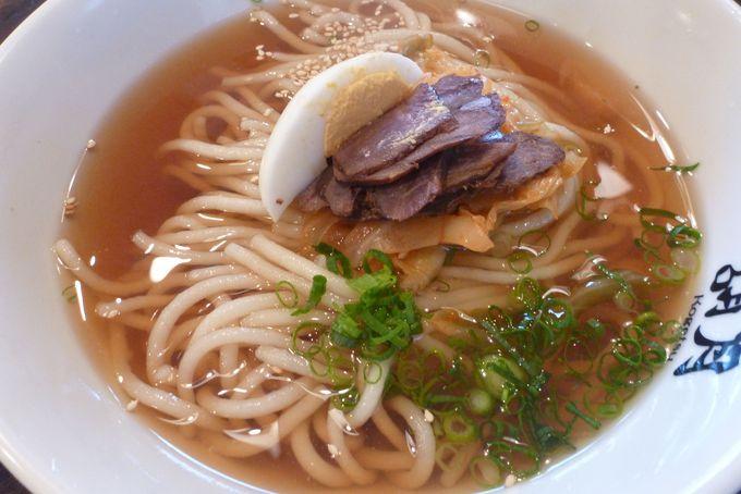 別府冷麺発祥のお店「胡月」の冷麺