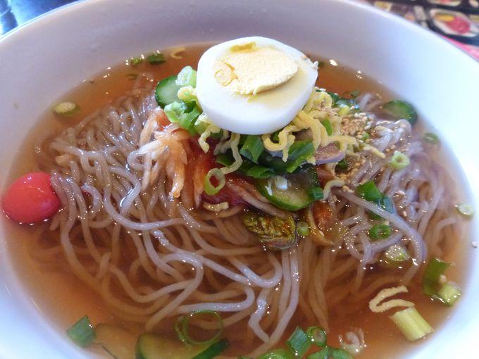 焼肉店の冷麺の代表格「春香苑」の冷麺