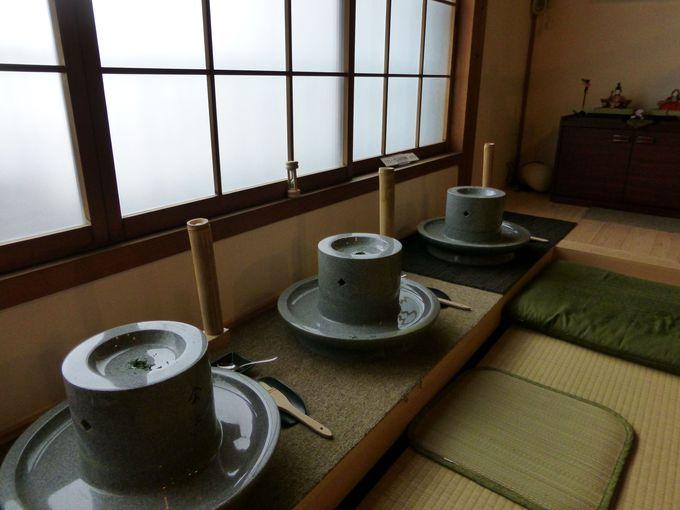 産地でも珍しい!抹茶作りを体験してみよう!