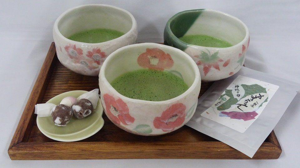 3種類の抹茶を飲み比べてみよう!