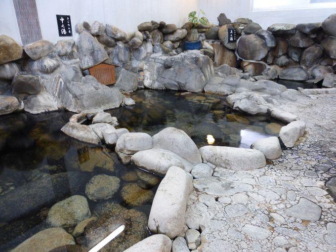世界一の濃度!トリウム泉が自噴する旅館大橋の「巌窟の湯」