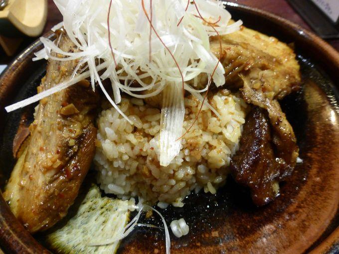 石見地方の美味しいお肉を使った「オロチ丼」