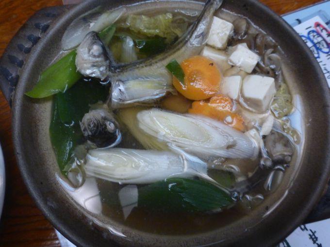 """秋田の魚醤""""しょっつる""""をつかった「しょっつる鍋」"""
