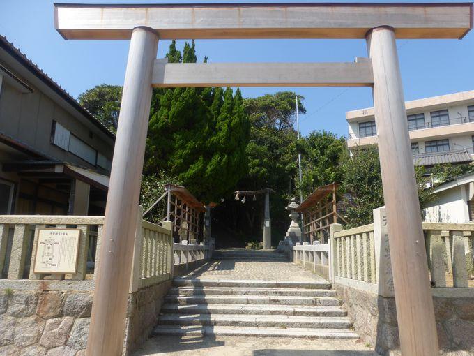 篠島は歴史的名所も外せない!