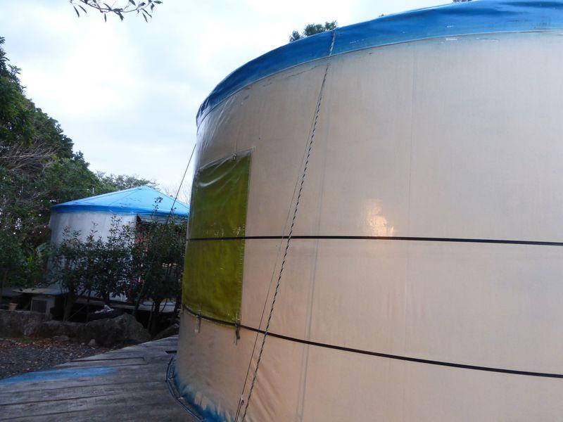 え?!屋久島でモンゴル風ゲルハウス?一味違った体験をしよう!