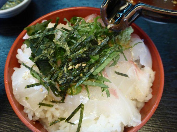 鯛の産地ならではの郷土料理「南予風鯛めし」