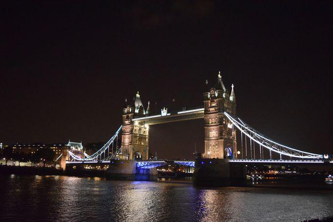 8.ロンドン市内観光ナイトツアー