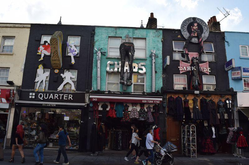 ロンドンの原宿!パンクな街、カムデン・タウンの歩き方