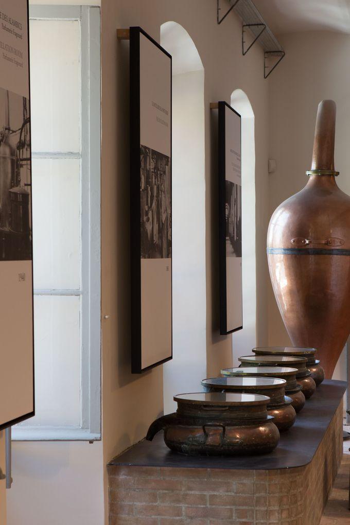 フラゴナール香水歴史工場