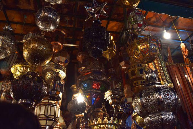 モロッコ・ランプで模様替え!