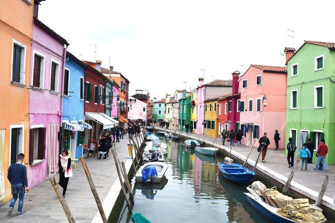 1.ムラーノ島/ブラーノ島(イタリア)