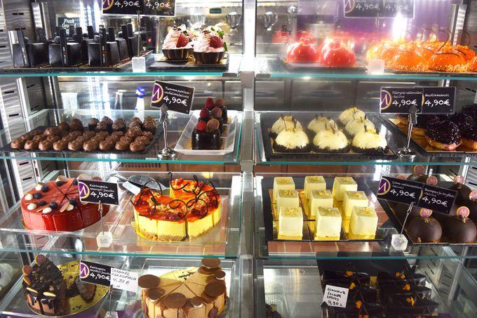 フィンランド一美味しいケーキがあるマーケットホール
